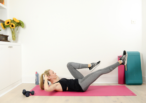 Bicycle crunches 3