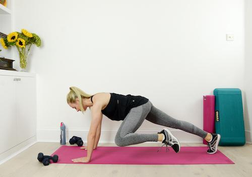 Plank Oblique Crunch 2